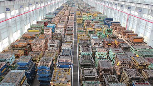 Stamping Press Warehouse Hyundai Partecs